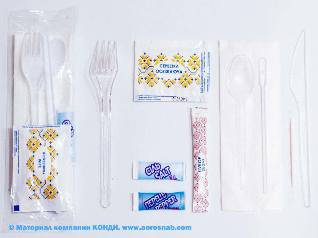 Одноразовые наборы для ресторанов и служб доставки еды